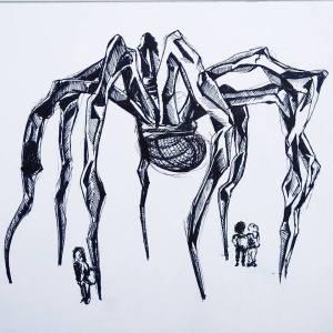Inktober_Spider