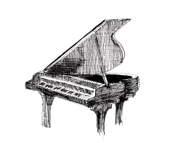 Grand Piano at KPL